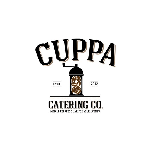 Literal logo with the title 'Cuppa'