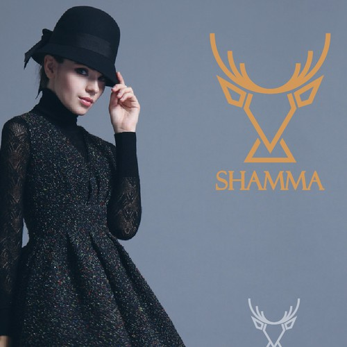 Modeling logo with the title 'Shamma Fashion '