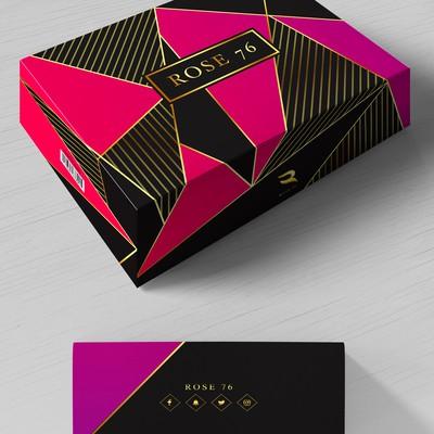 Gift Box Rose 76