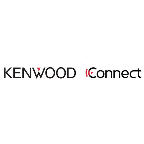 Corporate design logo with the title 'Kenwood Connect Logo'