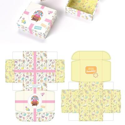 Mailer box design for bakery