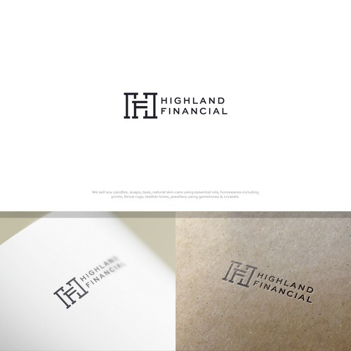 Finance logo with the title 'Highland Financial'