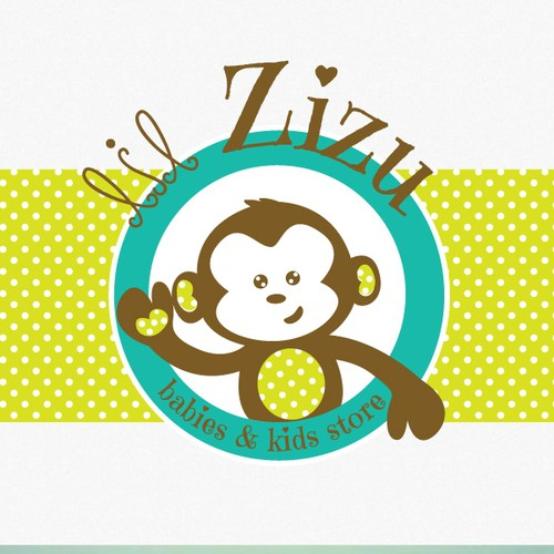 Baby brand with the title ' logo for babies & kids store'