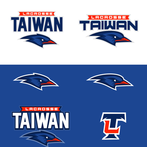 Lacrosse design with the title 'Create the official logo for Taiwan's premiere lacrosse team'