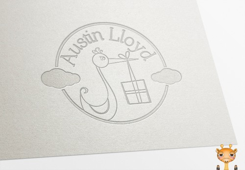Pregnancy logo with the title 'Create the next logo for Austin Lloyd'