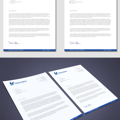 Create a classic chic letterhead for a boutique law firm