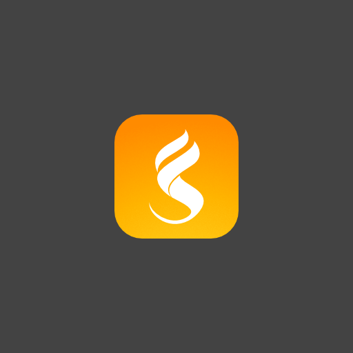 Campfire logo with the title 'Logo for Fireside'
