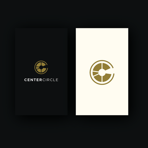 Geometric logo with the title 'Center Circle'