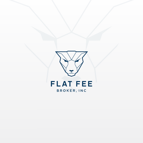 Jaguar design with the title 'Logo design concept for Flat Fee Broker, INC'
