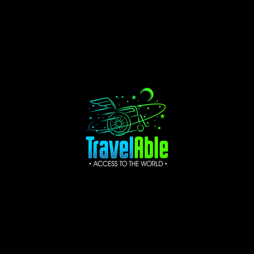 Fly brand with the title 'Logo Concept for TravelAble'