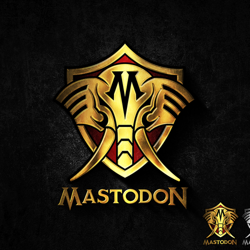 Elephant head logo with the title 'Mastodon'