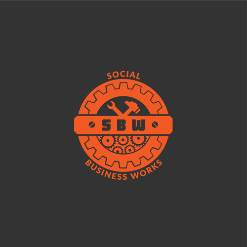 Steel logo with the title 'Social Business Works'