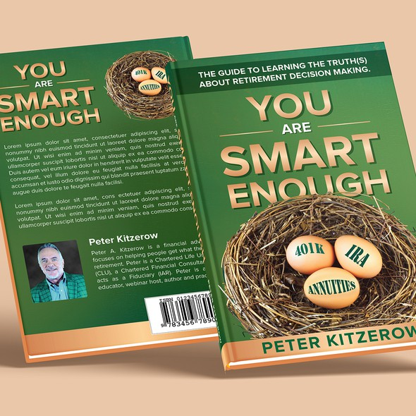 Financial book cover with the title 'You Are Smart Enough!'