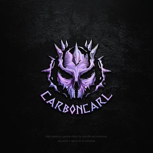 Alien design with the title 'Unique gaming/e-sports logo'