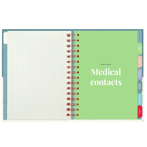 Journal design with the title 'Medical Journal'
