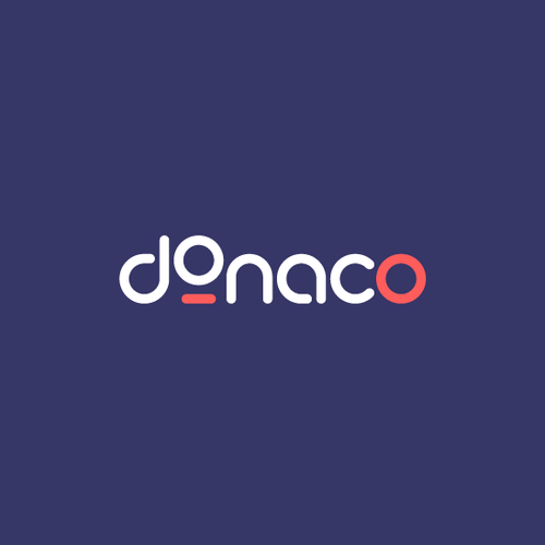 Action design with the title 'Logo for Donaco'