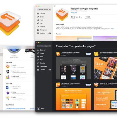 Icon for DesignKit for Pages Mac OS app.