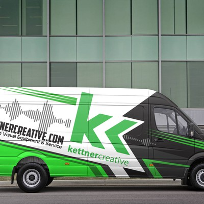 Van wrap for kettner creative