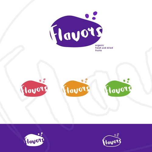 Indigo logo with the title 'food company logo design'