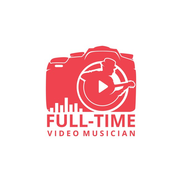 Freelancer logo with the title 'Full-Time Video Musician'