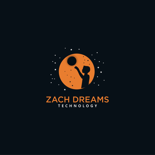 Dreamcatcher logo with the title 'Zach the dreamer'