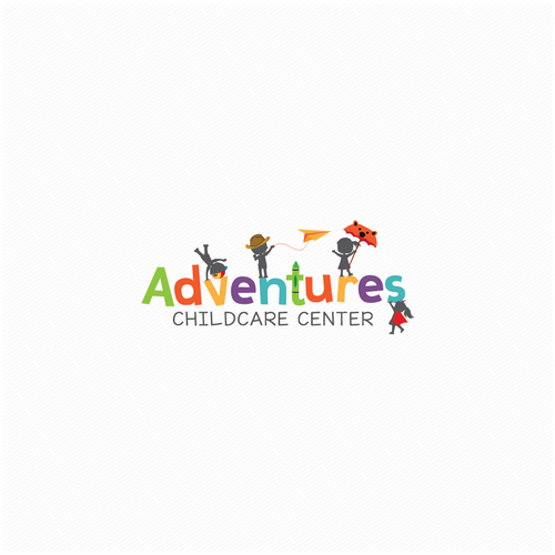 Quest logo with the title 'Advetures Childcare Center'