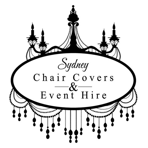 Chandelier logo with the title 'Luxury Event Planning = chandelier'