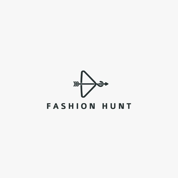 Hunting design with the title 'Logo concept for Fashion Hunt.'