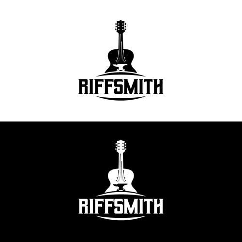 Anvil logo with the title 'RiffSmith logo design'
