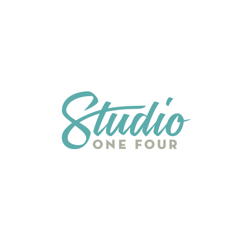 Glamorous logo with the title 'Studio One Four'