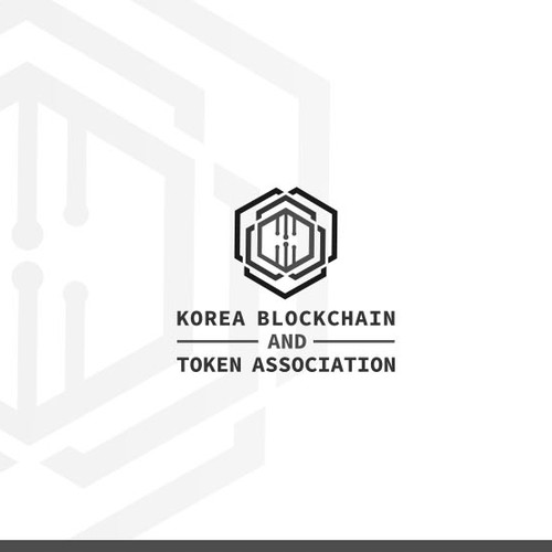Token design with the title 'Logo design for Blockchain and Token Association'