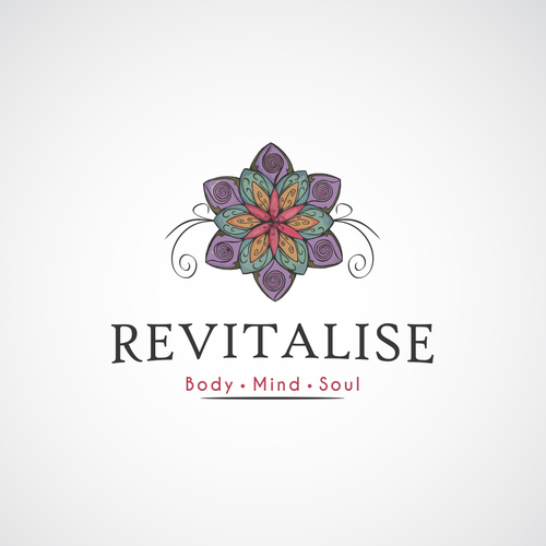 Mind brand with the title 'REVITALISE LOGO'