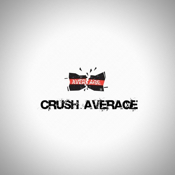 Trash design with the title 'Grunge logo'