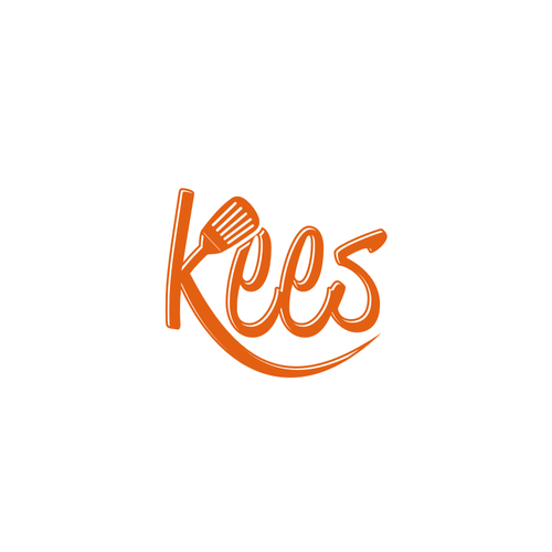 Cook design with the title 'personal logo KEES'