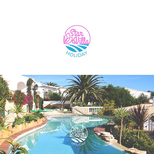 Sunny design with the title 'logo for sunny beach resort '