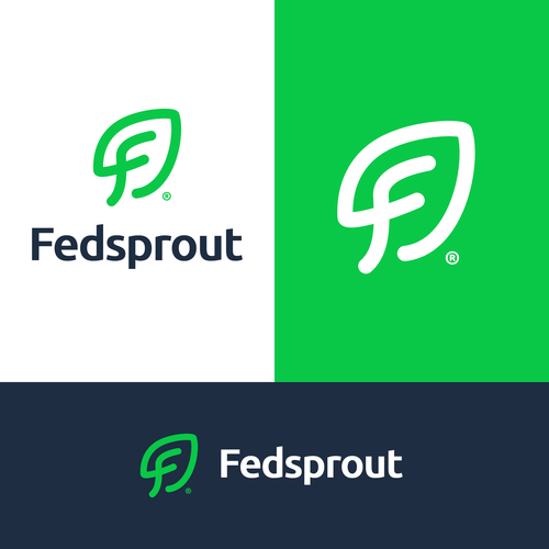 Packaging logo with the title 'Feedsprout'