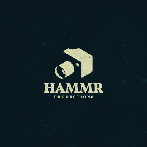 Video production logo with the title 'HAMMR productions'