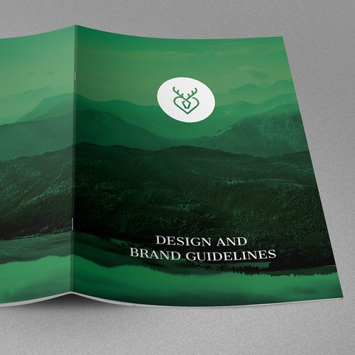 Fashion brand with the title 'Brand Guide for Traditional Fashion Brand'