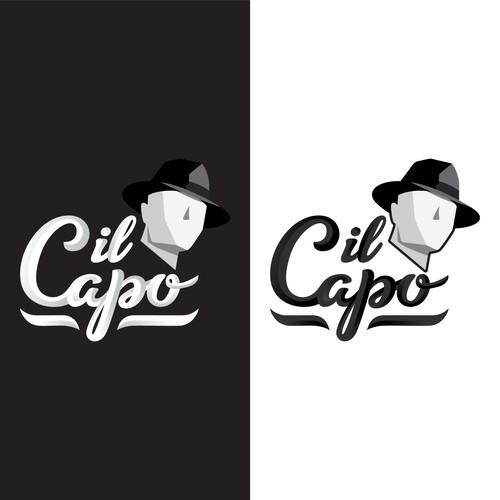 Creative brand with the title 'Il Capo - California Cannabis Vape Brand'