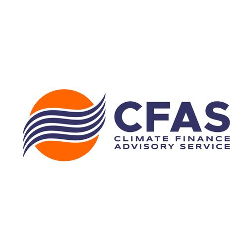 Financial advisor logo with the title 'Bold logo for climate advisory service'