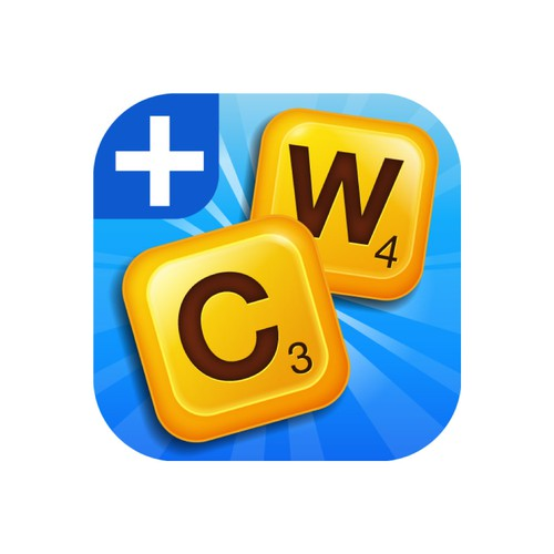Word design with the title 'Classic Words new Icon look'