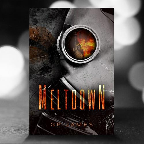 Drama design with the title 'Book cover design'