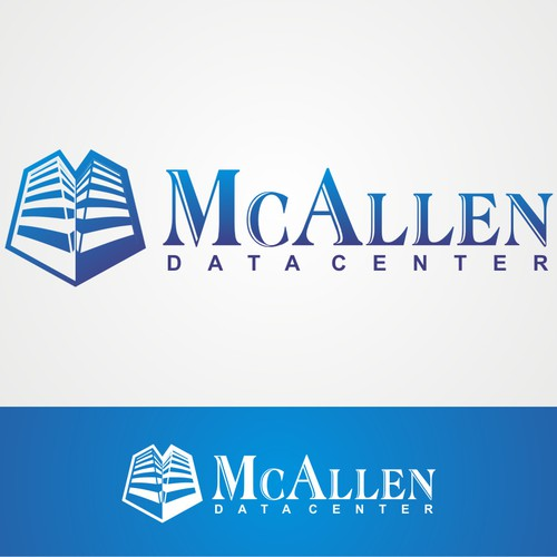 Hosting logo with the title 'logo for McAllen Data Center'