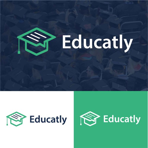 Professor logo with the title 'Educatly'