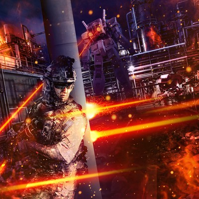 Action Scene Poster
