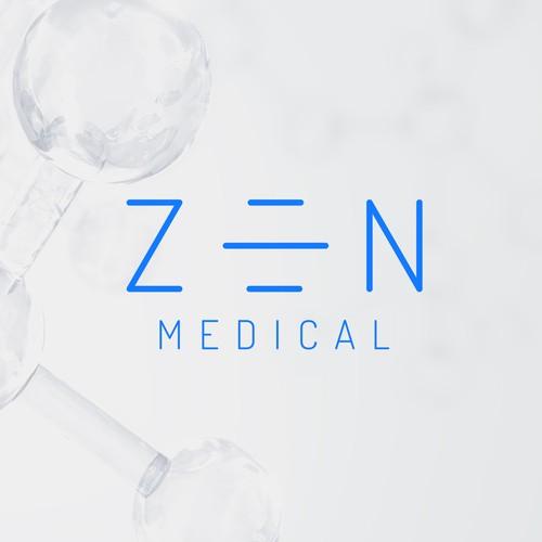 Zen design with the title 'modern, minimalist wordmark'