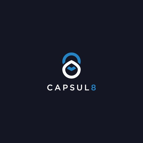Number 8 logo with the title 'CAPSUL 8'