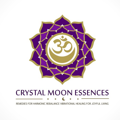 Essence design with the title 'Crystal Moon Logo'