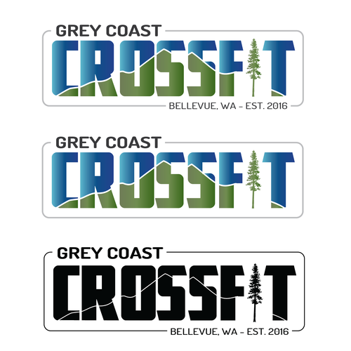 Seattle logo with the title 'Crossfit Logo'