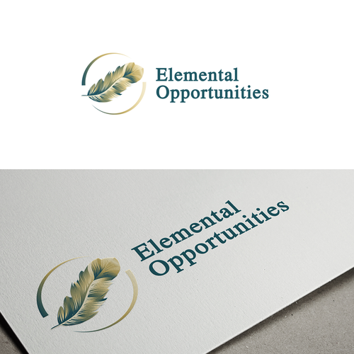 Consulting logo with the title 'logo for Elemental Opportunities'